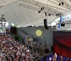 Aufnahme von einer Aufführung im Amphitheater